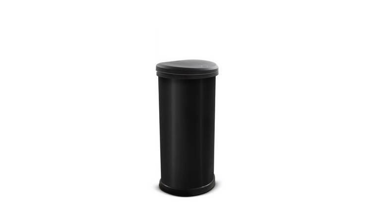 Curver 40 Litre Deco Touch Top Kitchen Bin - Black
