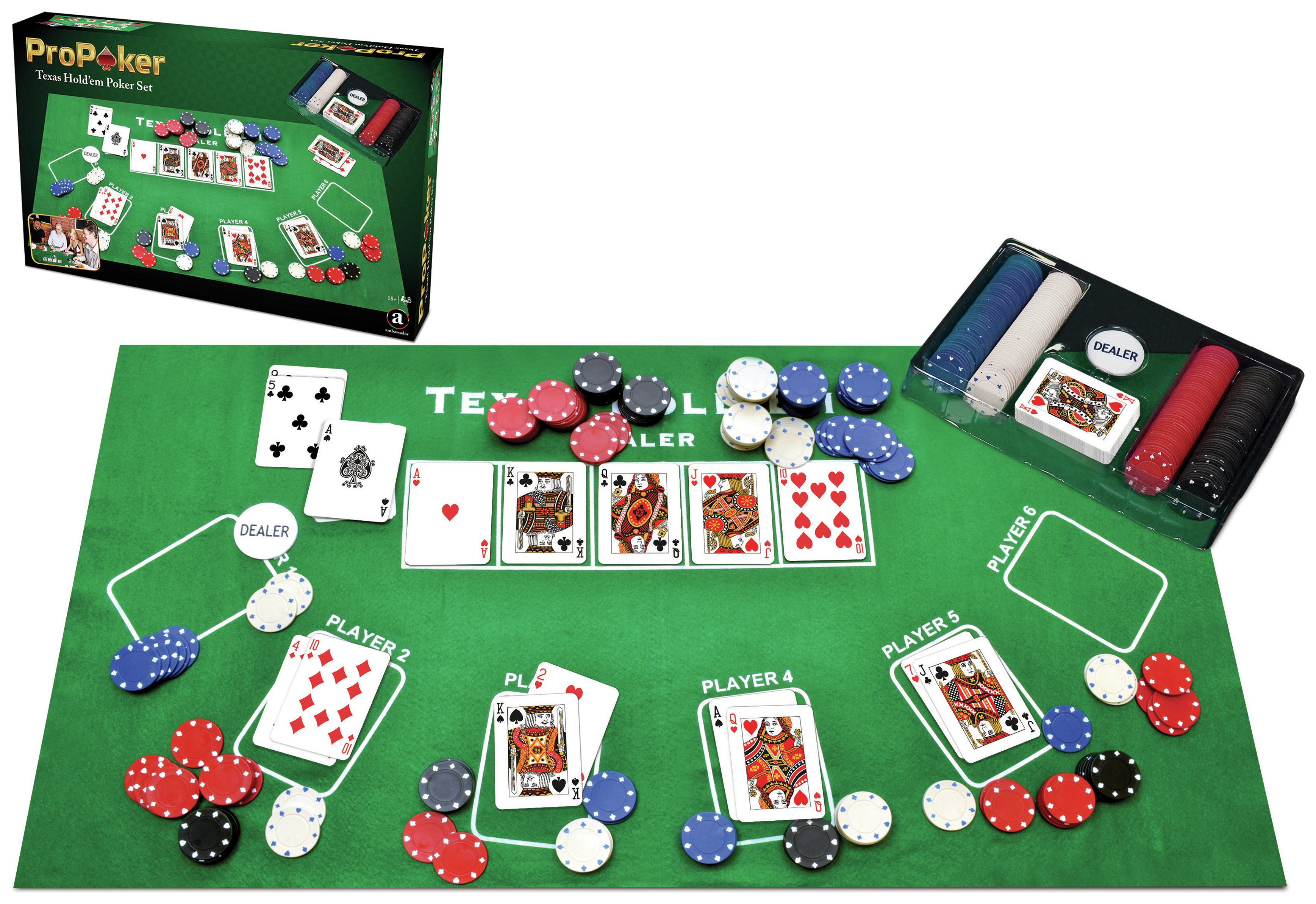 ProPoker Texas Hold'em Poker Set