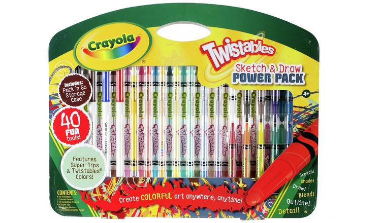 Crayola Twistables Sketch and Draw Set