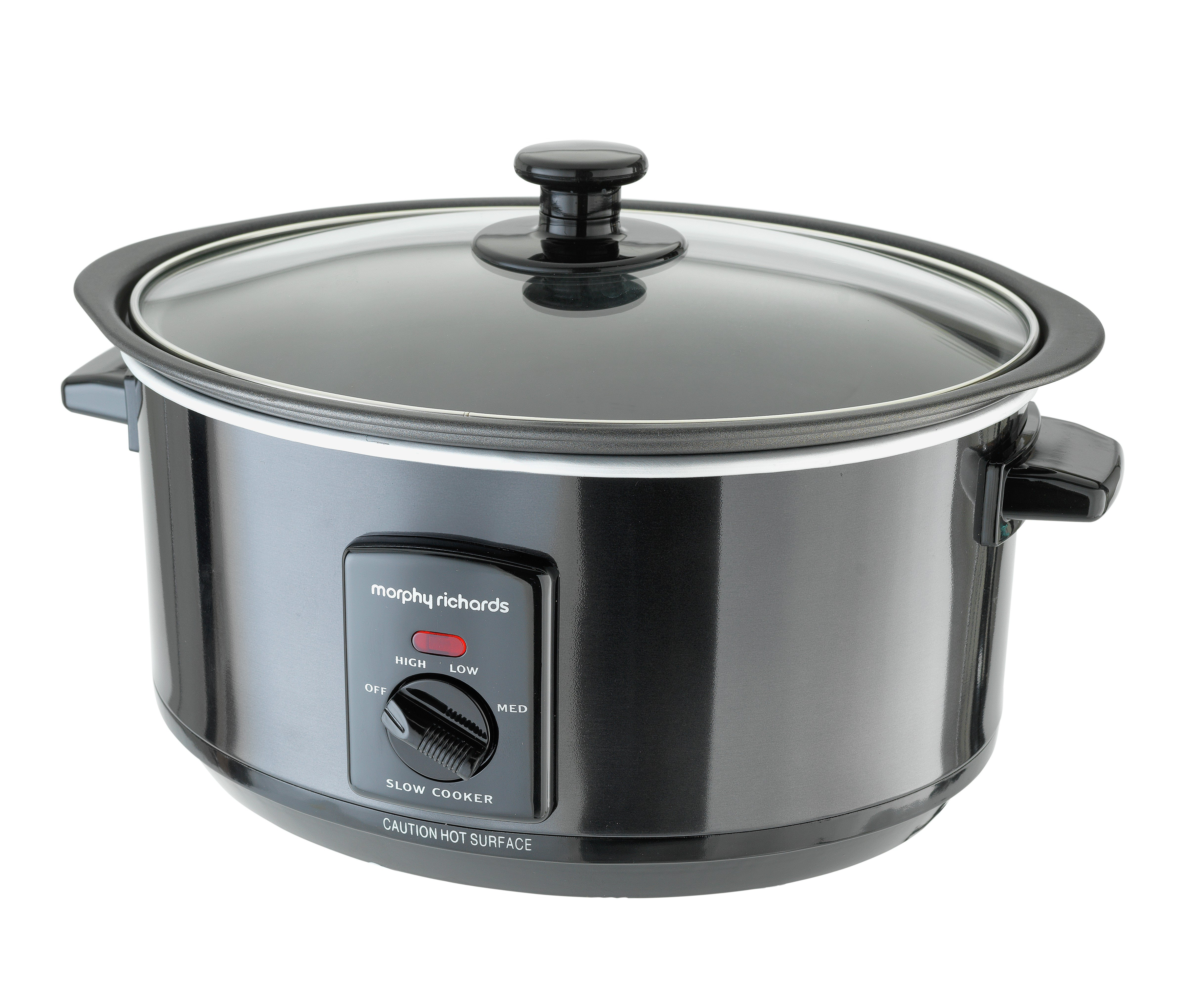 Morphy Richards - Accents Sear and Stew Slow Cooker - Black