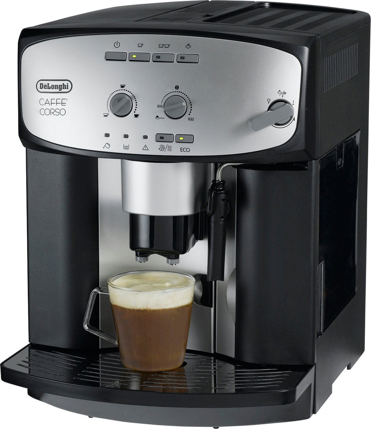 sale on de 39 longhi esam2800 cafe corso bean to cup. Black Bedroom Furniture Sets. Home Design Ideas