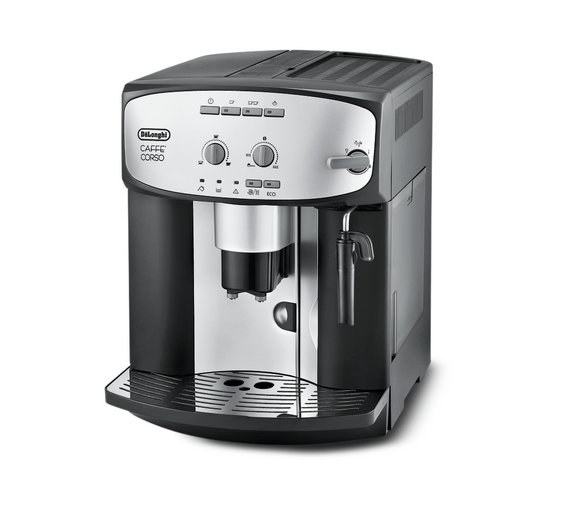 Buy de 39 longhi esam2800 cafe corso bean to cup coffee machine at - Machine a cafe grain delonghi ...