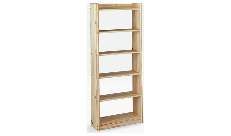 save off b497f c333e Buy Argos Home Unfinished 6 Shelf Solid Pine Storage Unit | Bookcases and  shelving units | Argos