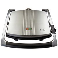 Breville - VST026 4 Slice Sandwich Press - Stainless Steel