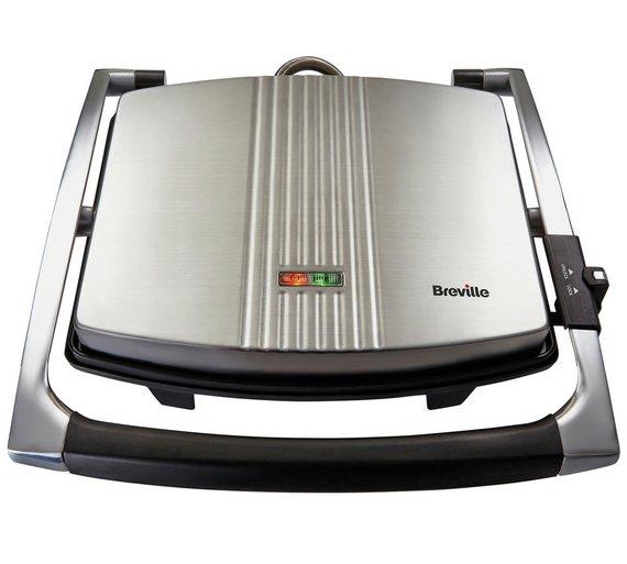 buy breville vst026 4 slice sandwich press stainless. Black Bedroom Furniture Sets. Home Design Ideas