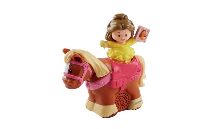 Fisher-Price Disney Princess Trot Along Phillipe and Belle