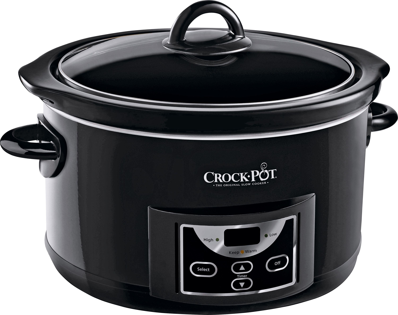 Image of Crock-Pot SCCPRC507B-060 47L Countdown Slow Cooker - Black