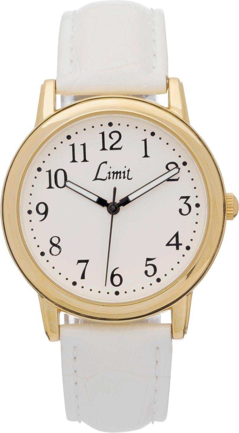 limit quartz gold plated white from