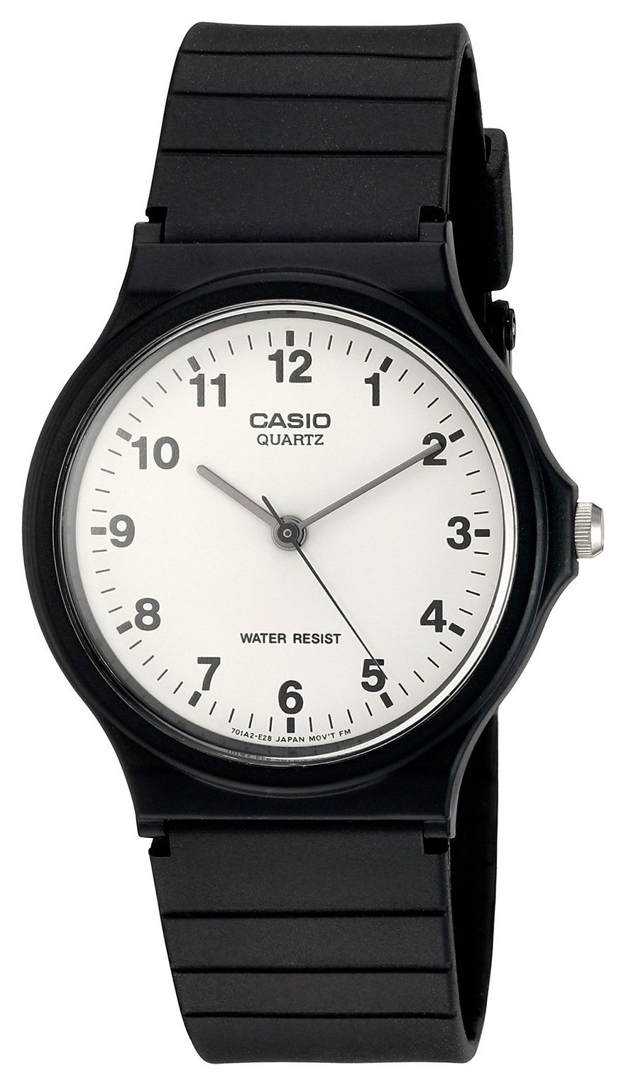 Casio Unisex Black Resin Strap Watch