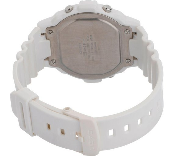 buy casio men s white digital illuminator lcd watch at argos co uk 7 others have looked at this in the last couple of hours
