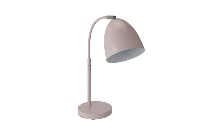 Argos Home Skandi Table Lamp - Pink