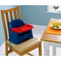 Little Star Chair - Booster Seat with Tray - Blue