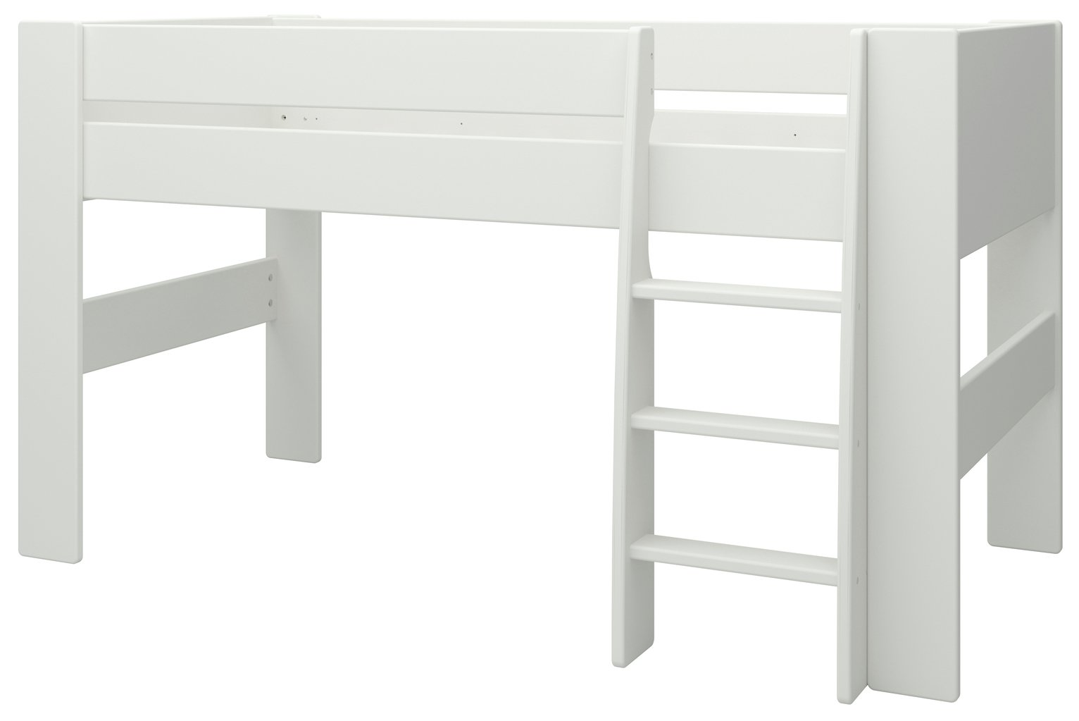 Argos Home Memphis White Mid Sleeper Bed Frame