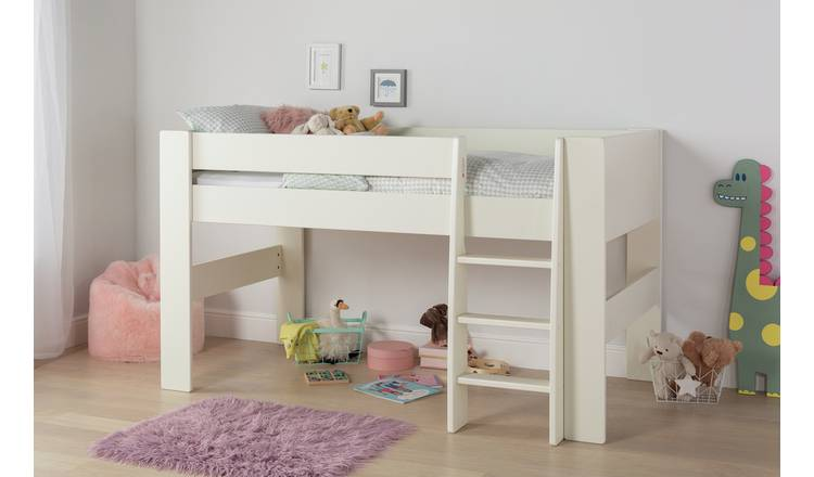 Argos Home Memphis Mid Sleeper Bed Frame - White