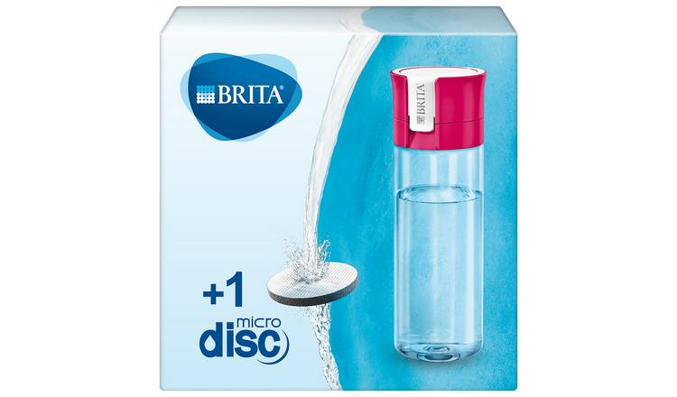 Brita Water Filter Bottle - Pink - 600ml