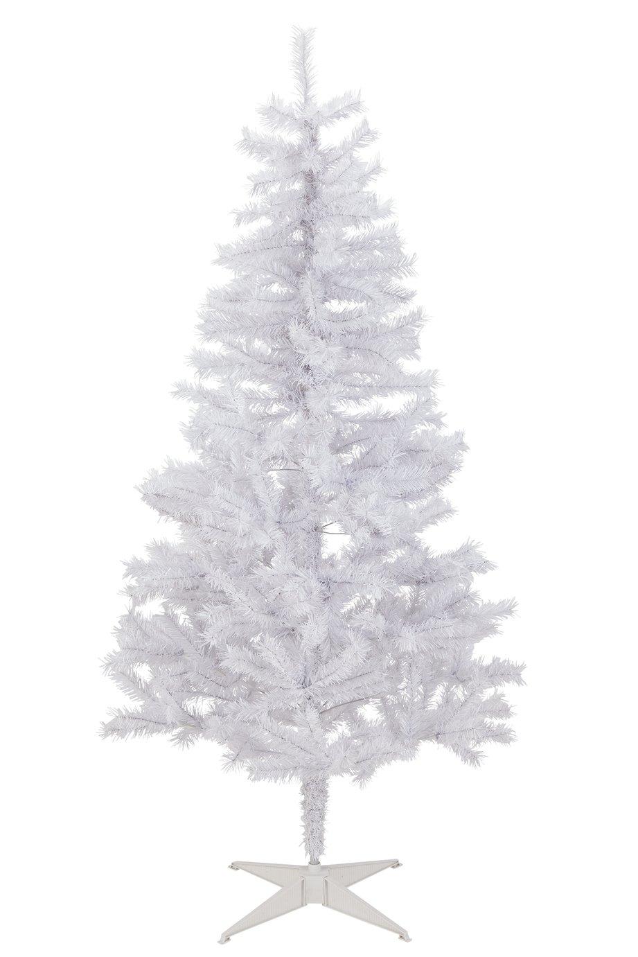 Argos Home 6ft Lapland Christmas Tree - White