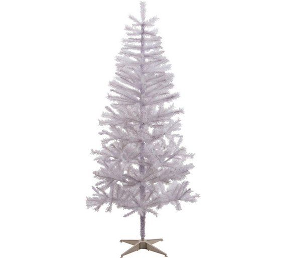 argos home lapland 6ft christmas tree white - 6ft White Christmas Tree