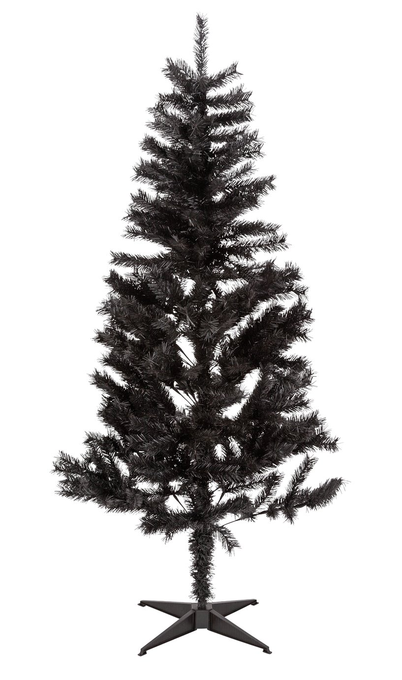 Argos Home 6ft Lapland Christmas Tree - Black