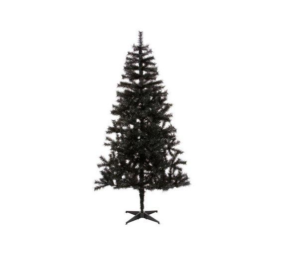 home lapland 6ft christmas tree black - Black Christmas Tree