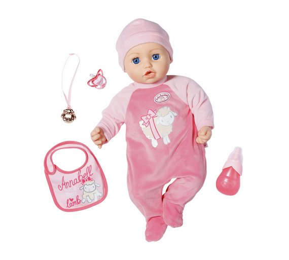 Buy Baby Annabell Doll Dolls Argos