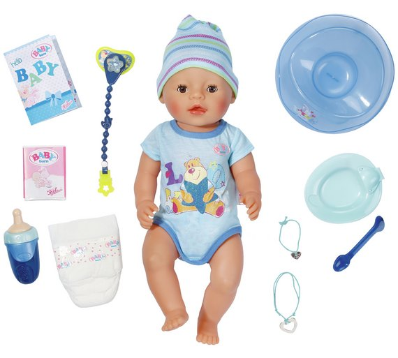 Baby Boy Gifts Argos : Buy baby born interactive doll boy at argos your