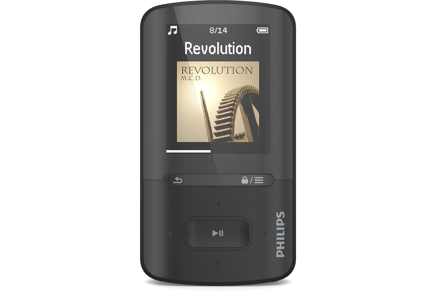 Philips Philips - SA4VBE04KN/12 GoGear VIBE 4gb MP3/MP4 Player - Black