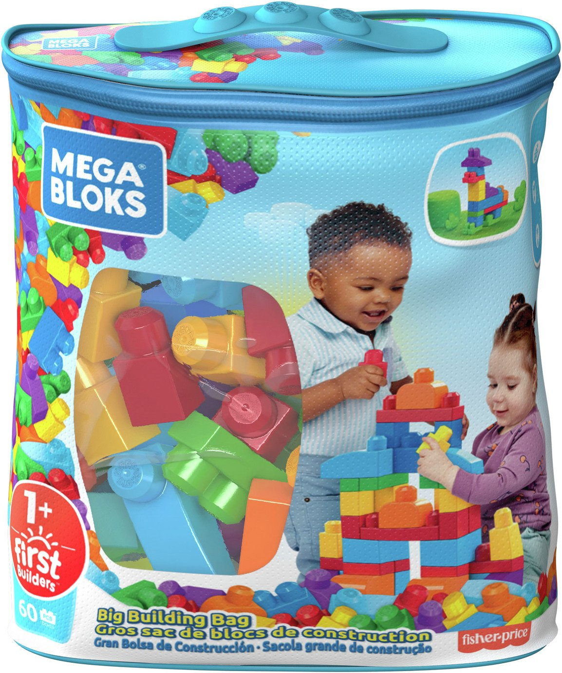 Mega bloks first builders tube 100 pieces for Builders first