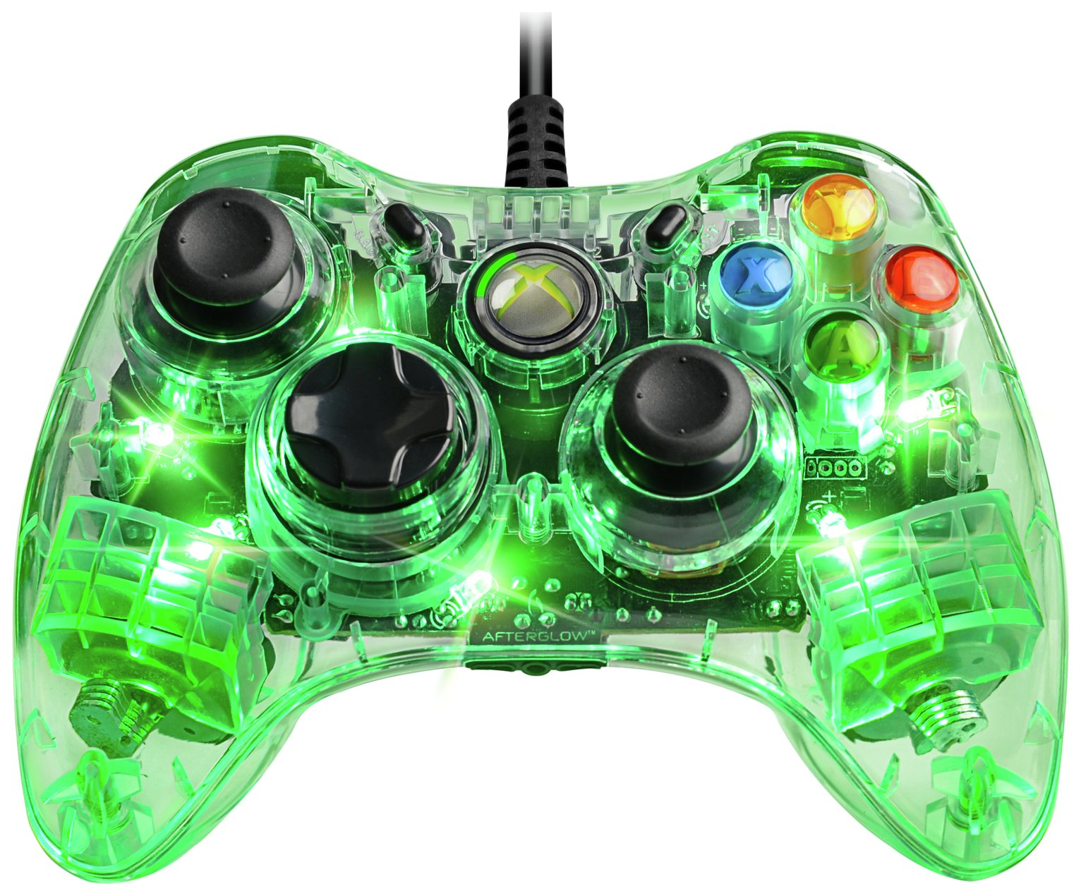 Afterglow - Xbox 360 Wired Controller - Green