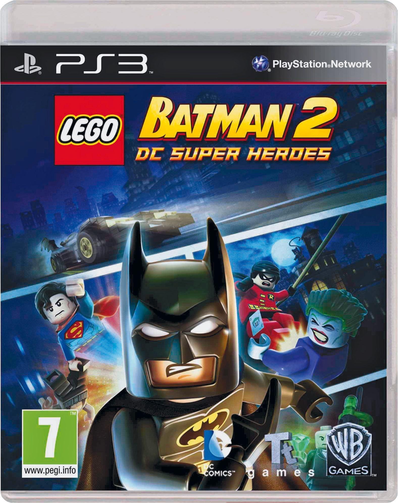 Buy LEGO Batman 2 DC Heroes PS3 Game   PS3 games   Argos
