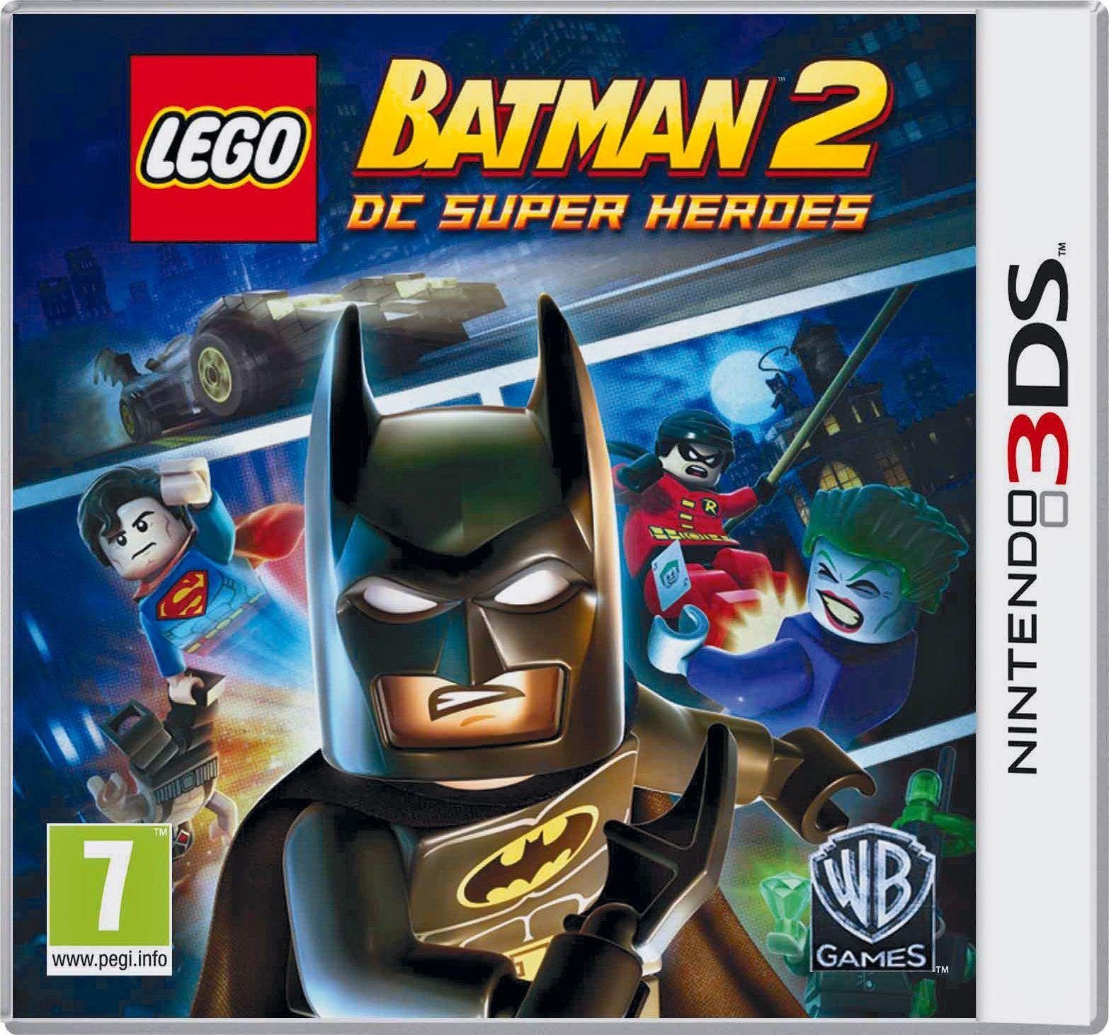 Buy LEGO Batman 2 DC Heroes 3DS Game   Nintendo 3DS, 2DS and DS ...