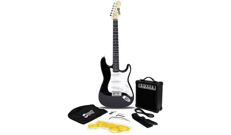 Buy RockJam Electric Guitar Kit With Amp - Black | Electric guitars | Argos