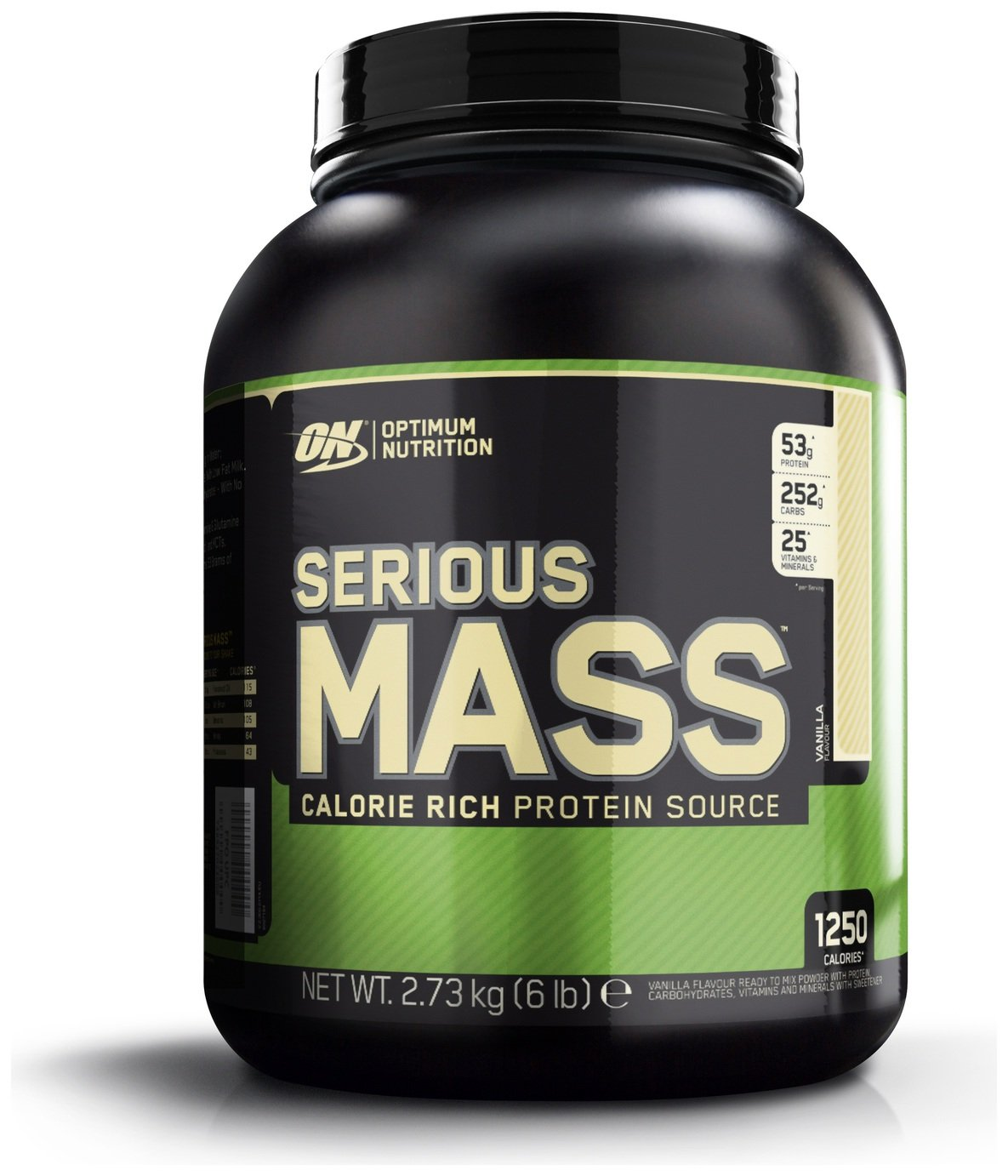 Optimum Nutrition Serious Mass Vanilla Shake 2.73kg