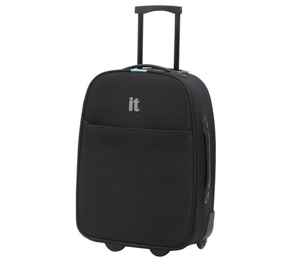 Buy IT Luggage 2 Wheel Business Cabin Case - Black at Argos.co.uk ...