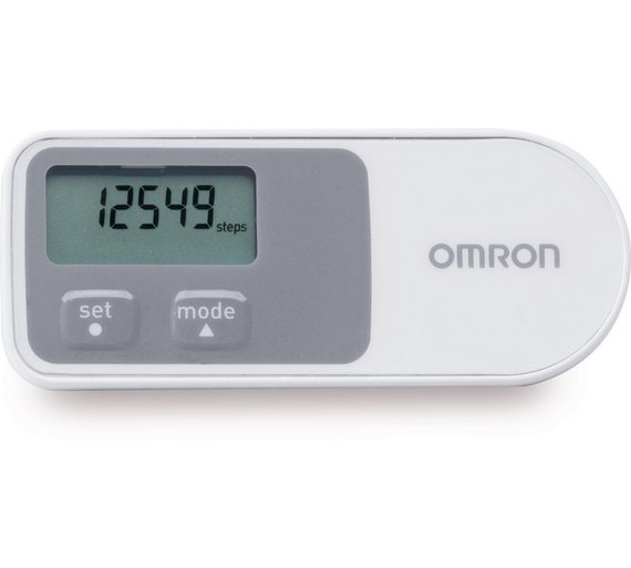 buy omron walking style one 2 0 step counter pedometer at. Black Bedroom Furniture Sets. Home Design Ideas