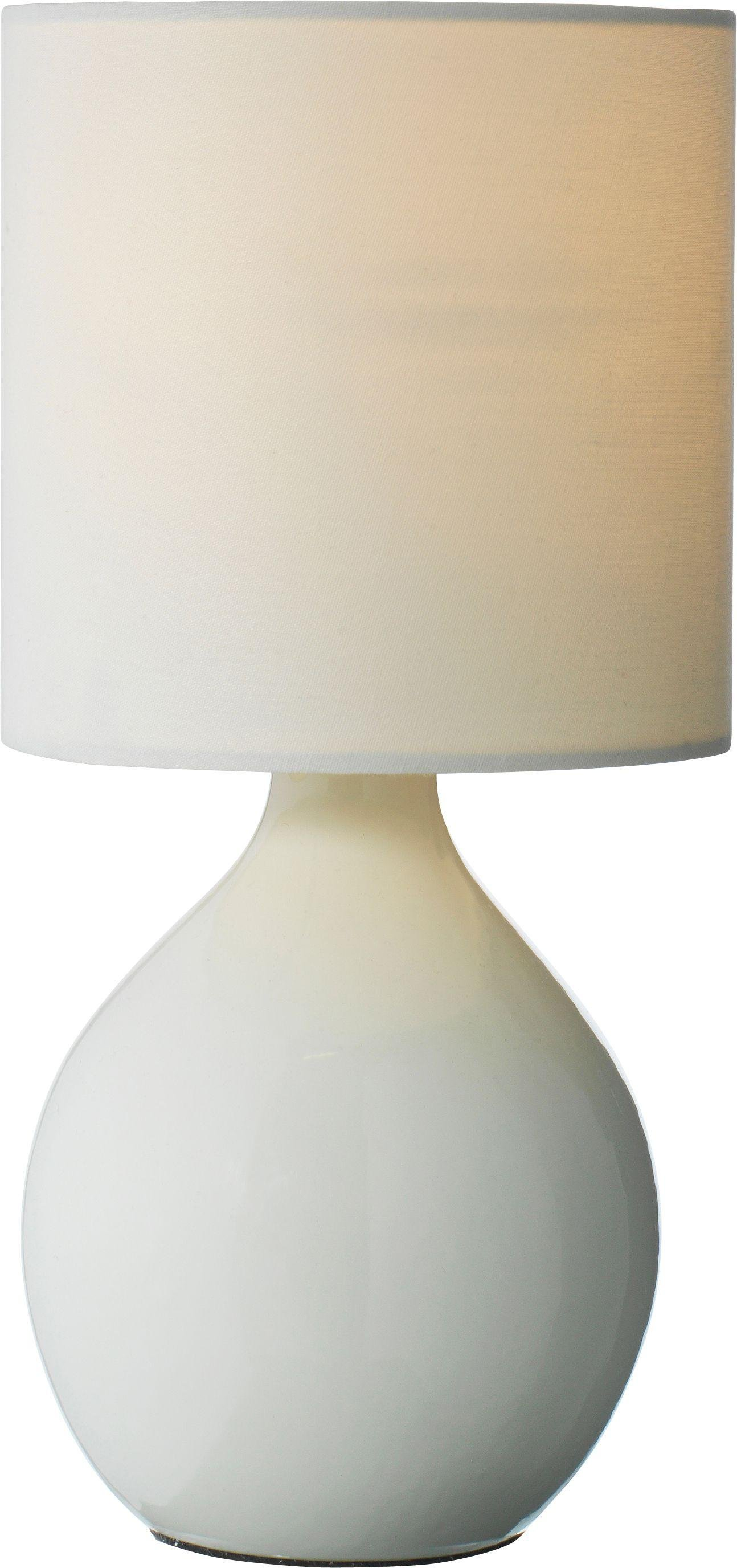 Image of ColourMatch - Round - Ceramic - Table Lamp - Cotton Cream