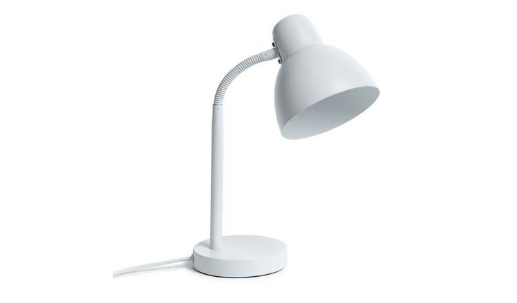 Argos Home Desk Lamp - White