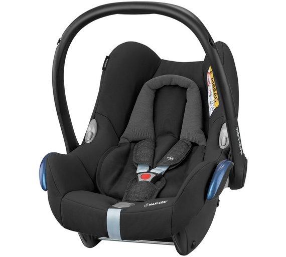buy maxi cosi cabriofix group 0 black raven infant carrier at your online shop. Black Bedroom Furniture Sets. Home Design Ideas