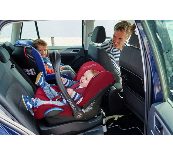 Buy Maxi-Cosi CabrioFix Group 0+ Black Raven Infant Carrier | Car ...