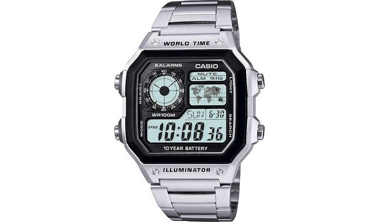 Casio Men's Illuminator Stainless Steel Bracelet Watch
