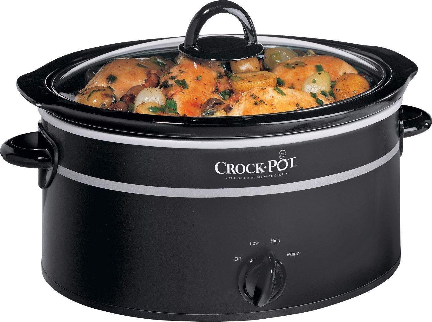 Crock-Pot 6.5L Slow Cooker - Black