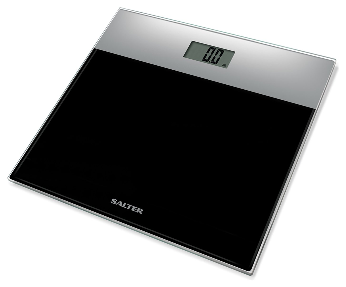Salter Glass Electronic Scale - Black