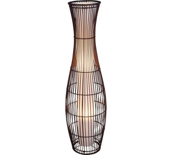 Buy Collection Sirit Rattan Floor Lamp Dark Brown At Argos Co Uk Your Online Shop For Floor