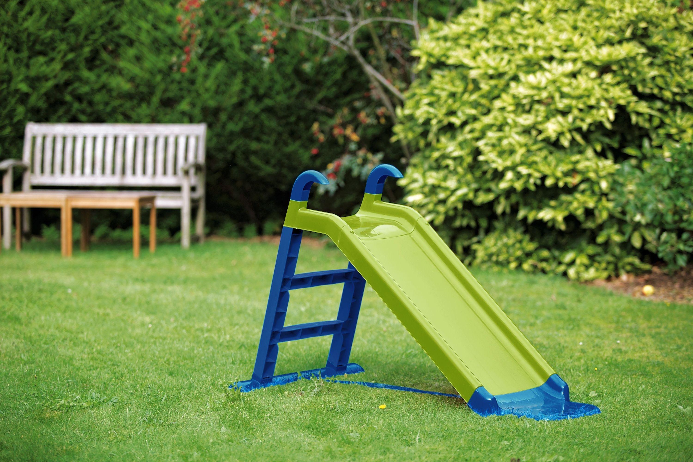 buy chad valley junior slide - green at argos co uk
