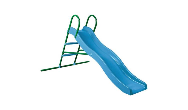 Chad Valley 6ft Kids Wavy Garden Slide - Blue