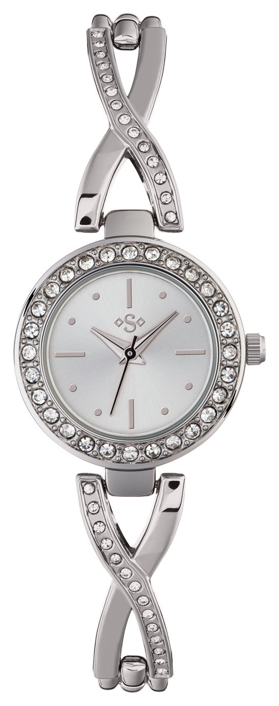 Spirit - Ladies Twist - Stone Set Bracelet - Watch