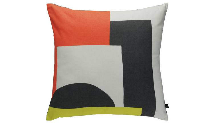 Habitat Miro 45 x 45cm Patterned Cushion - Multicoloured
