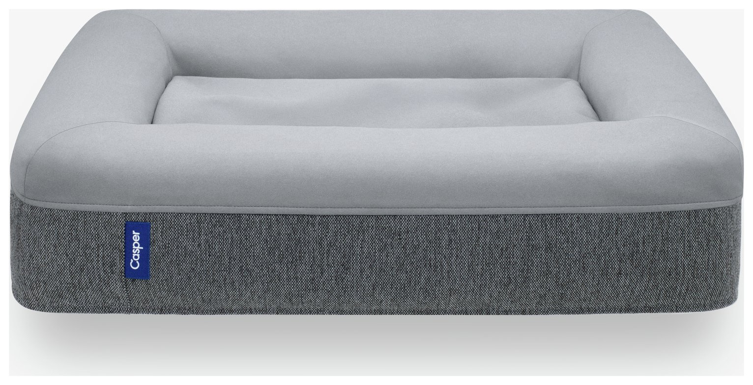 Casper Grey Dog Bed - Large