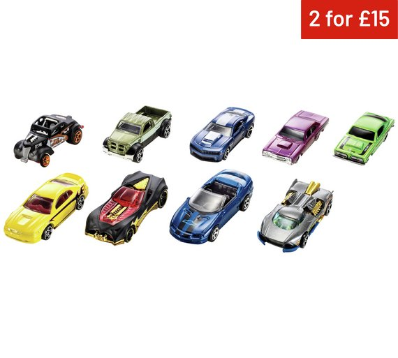 buy hot wheels car 9 pack assortment at argoscouk your online shop for toy cars vehicles and sets toy cars trains boats and planes toys