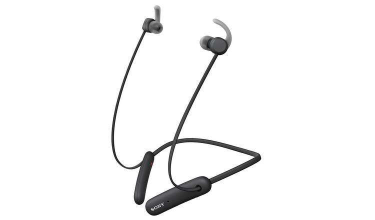 Sony WI-SP510 In-Ear Wireless Headphones - Black