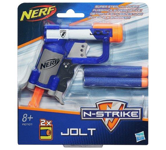 Nerf N-Strike Jolt EX-1 Blaster Steampunk Telescopic Pistol Mod